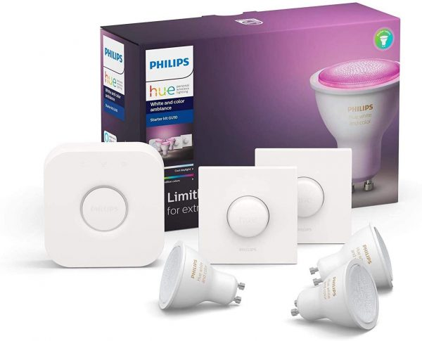 Phillips Hue G10 starterset 1